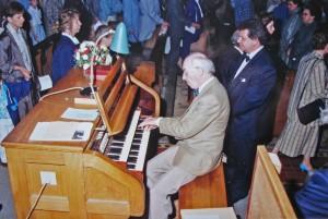 Wim Steenbak met Albert de Klerk